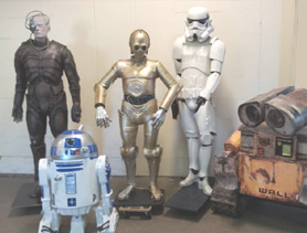 DecoFreak.nl decoratie beelden | Science_fiction_statues