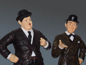 DecoFreak.nl decoratie beelden | Laurel and Hardy