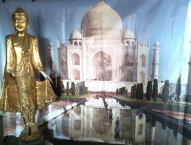 DecoFreak.nl decoratie beelden | indiaas Taj Mahal decor